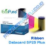 Ribbon Color YMCKT Datacard SP25 Plus