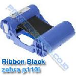 Ribbon Black Zebra P110i dan P120i