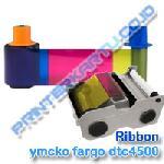 Ribbon YMCKO Fargo DTC4500e