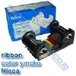 Ribbon YMCKO Nisca PRC101