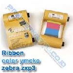 Ribbon Color YMCKO Zebra ZXP3