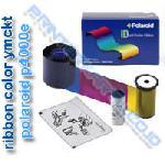 Ribbon YMCKT Polaroid P4000e